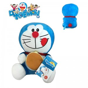 Peluche Doraemon con dorayaki de dibujos animados Doraemon 18 cms Original Nuevo