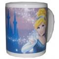 Taza de Porcelana Princesas Disney de Cenicienta Nueva en caja Mug