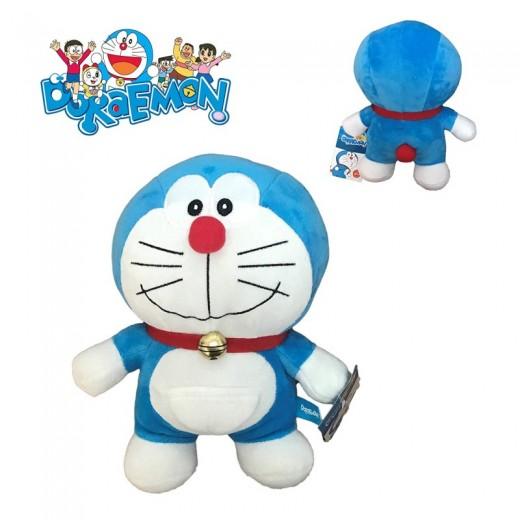 Peluche Doraemon de pie de dibujos animados Doraemon 20 cms Original Nuevo