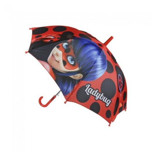 Paraguas de LadyBug Prodigiosa de dibujos animados Miraculous Nuevo 45 cm
