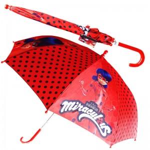 Paraguas de LadyBug Prodigiosa de dibujos animados Miraculous Grande