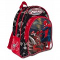 Mochila grande de Spiderman de 40 cm para colegio grande con 2 compartimetnos
