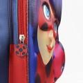 Mochila grande de Ladybug y tikki Miraculous en 3D EVA de 41 cm para colegio