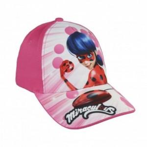 Gorra de ladybug color rosa para niña gorra con visera de miracolous Nueva