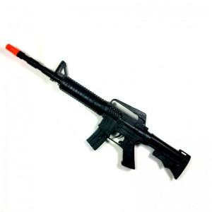 metralleta de juguete para disfraz con ruido efecto disparos militar carnaval