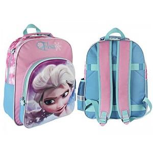 Mochila de Elsa en 3D de Frozen Elsa Grande 41 cms para colegio carrito