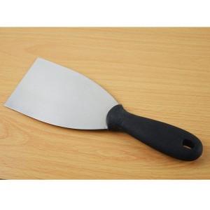 Espatula triangular para plancha y sarten pescados acero inoxidable para cocina