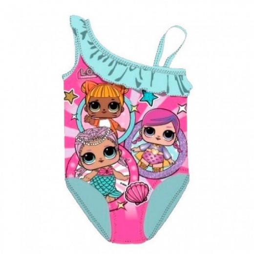 Bañador lol Surprise ropa de baño de lol surprise para niña azul y rosa