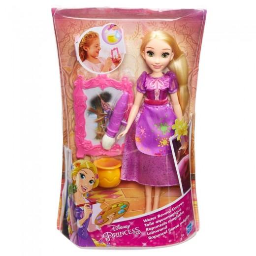 Muñeca de Rapunzel Lienzo Magico Disney con picel y pintura