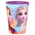 Vaso de Frozen Elsa y Anna olaf para niños 260ml de plastico pelicula dibujos