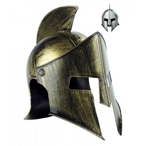 Casco de Gladiador gorro disfraz de espartano romano para Carnaval Sparta