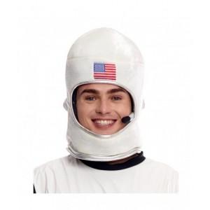 Gorro de Astronauta casco para disfraz de astronauta EEUU Foam para Adulto