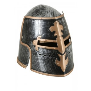 Casco de Medieval gorro soldado medieval cruzadas casco para disfraz edad media