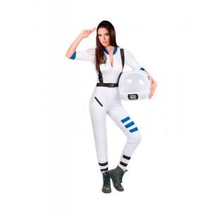 Disfraz de Astronauta Traje de astronauta ajustado para carnaval Adulto Mujer