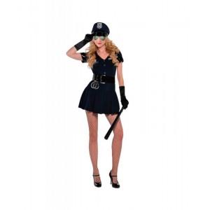 Disfraz de Policia Sexy traje de mujer sensual despedida de soltera con esposas