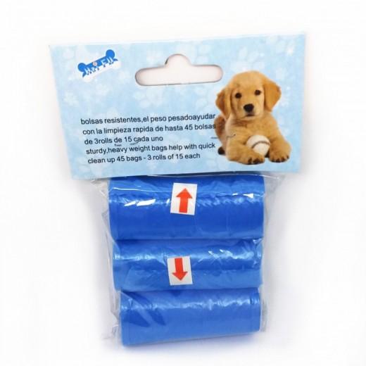recambios bolsas para cacas de perro mascotas pack de 3 recoger escremento calle