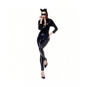 Disfraz de Cat GIRL Woman vestido carnaval de gata negra sexy despedida Soltera