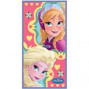 Toalla de Frozen Anna y Elsa de playa y piscina Microfibra secado rapido