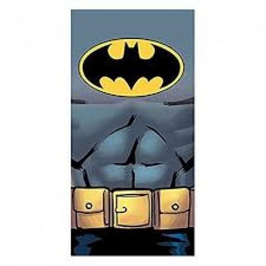 Toalla Marvel de Batman Microfibra secado rapido para playa y piscina bat-man