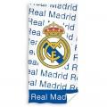 Real Madrid Toalla blanca y azul del REAL MADRID para playa piscina y baño