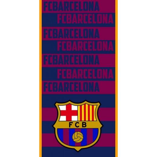 Toalla del Barcelona FCB FC barça de Poliester Azulgrana para playa y piscina