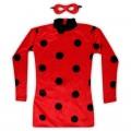 Disfraz de Ladybug con antifaz adulto para chica difraz mujer ladybug prodigiosa