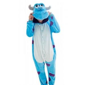 Disfraz de Monstruo Tipo Sulli de Monstruos SA Pijama Kigurumi Sullivan Mujer