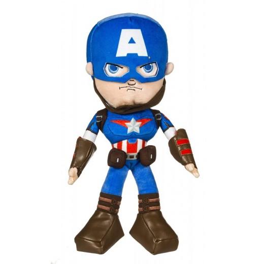 Peluche del Capitán America 29 cms Marvel Avengers Los Vengadores muñeco capitan