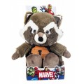 Peluche de Rocket Raccoon 28 cms Guardianes de la Galaxia Marvel Mapache
