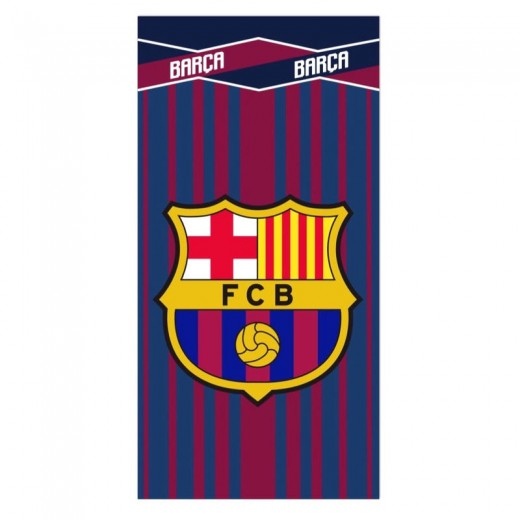 Toalla del FC Barcelona de microfibra barça secado rápido para playa o piscina