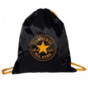 Mochila Saco Converse Negra 43 cms bolsa Converse original color Negro