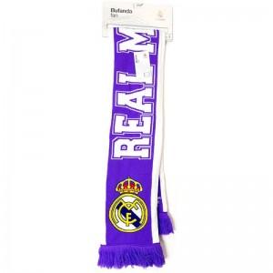 Bufanda del Real Madrid modelo ¡Hala Madrid! doble cara equipo futbol madrid