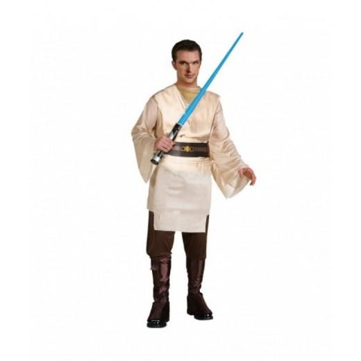Disfraz de JEDI tipo Star Wars Jedi guerrero de las galaxias traje carnaval
