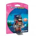 Muñeco de playmobil Guerrera versión Playmo Playmo Friends juguete en blister