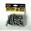 Tacos para pared de 10 milimetros taco de nylon profesional M10 25 unidades