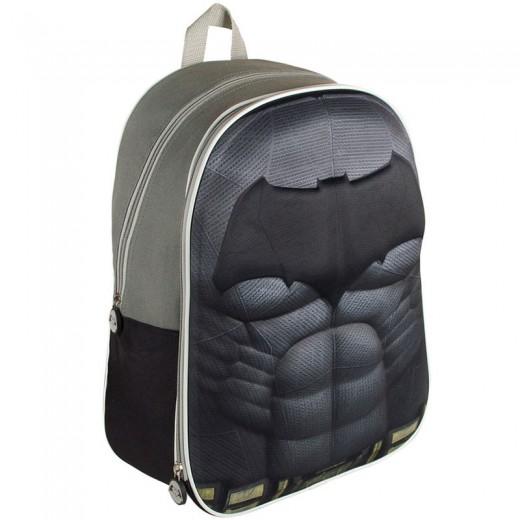 Batman Mochila 3D con logo muercielago EVA 40 cms para colegio Batman y superman