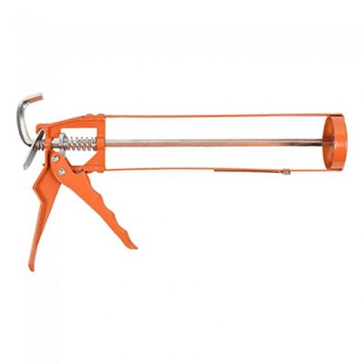 Pistola para silicona metalica profesional pegamento cola pistola calafateadora