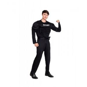 Disfraz Agente SWAT Musculoso Hombre traje policia S.W.A.T operaciones especial