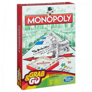 Juego de mesa Monopoly edición de Viaje versión para llevar Grab&GO Original