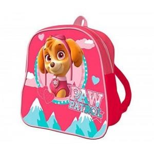 Mochila de la patrulla canina Skye rosa dibujos perritos mini mochila Guarderia