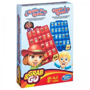 Juego de mesa Quien Es Quien edición de Viaje Grab&Go Portable