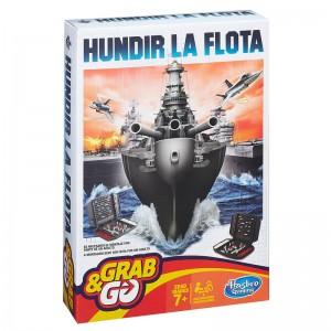 Juego de mesa Hundir La Flota edición de Viaje Grab&Go Portable