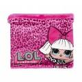 Braga para cuello de LOL Surprise tubular polar bufanda muñecas rosa y fucsia