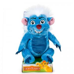 Peluche de Bunga La Guardia del Leon amigo Rey leon Tejón azul 25 cm