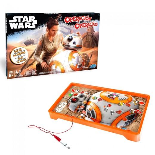 Juego Operacion Star Wars BB-8 original robot droide naranja de starwars Hasbro