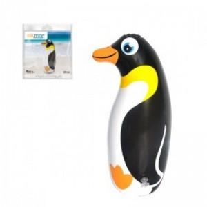 Pingüino hinchable para piscina o playa 36 cms animal pinguino flotador posado