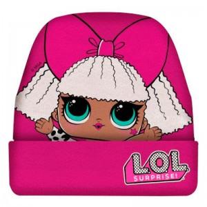 Gorro de abrigo de LOL Surprise rosa Fucsia infantil Original