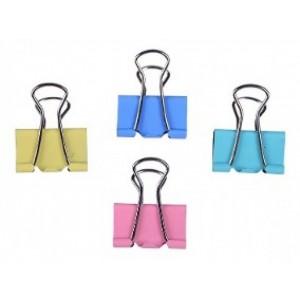 6 pinzas doble clip clips de colores con pinzas en 2 colores tamaño 4