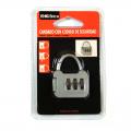 Candado para taquilla con codigo de seguridad con clave numérica pequeño