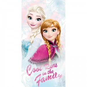 Toalla de Frozen Elsa y Anna Hermanas de Hielo Disney Algodon Original